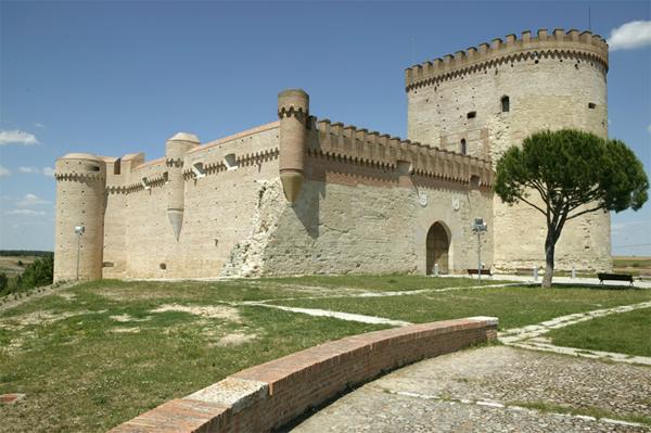 vistas desde el castillo de Arévalo, Ávlila. Fuente: 'Viajar con hijos'