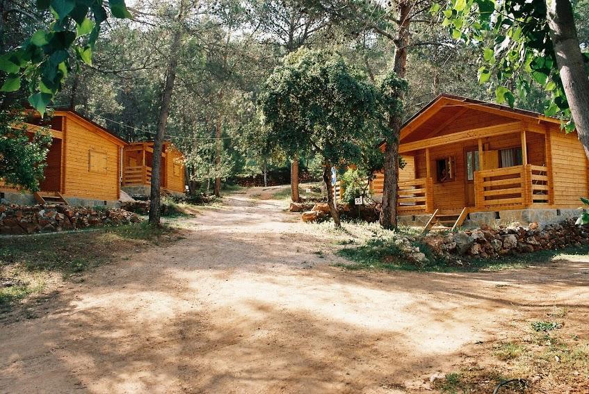 Un verano de caba as de madera viajar con hijos for Camping en navarra con piscina