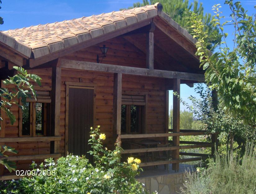Un verano de caba as de madera viajar con hijos - Casas rurales de madera ...