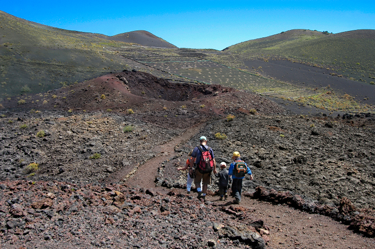 LaPalma_Caminando entre volcanes_P. Fernández