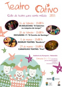 Teatro Cativo, Redondela, Pontevedra @ Auditorio da Xunqueira   Redondela   España