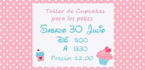 Taller de cupcakes @ La Escuela con Encanto
