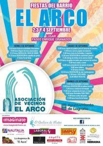 Fiestas de El Arco @ Paseo Enrique Granados, Logroño | Logroño | La Rioja | España