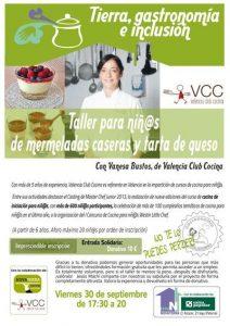 Taller solidario de mermeladas caseras @ Valencia Club Cocina