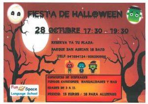 Fiesta de Halloween en inglés @  Academia de inglés Fun Space Logroño | Logroño | La Rioja | España
