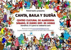 Canta, baila y sueña en Almàssera @ Centro Cultural de Almàssera