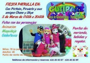 Fiesta de la Patrulla Canina @ Gutipark