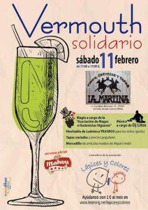 """Vermouth solidario de Lápices y Colores @ Cafetería """"La Martina"""""""