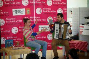 Cuentacuentos para bebés @ Biblioteca Xosé Neira Vilas   Vigo   España
