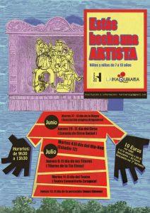 "Taller ""Estás hecho un artista"" @ Harinera de San José | Zaragoza | Aragón | España"