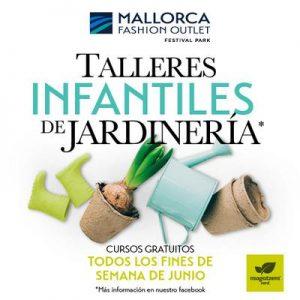 Talleres infantiles de Jardinería @ Mallorca Fashion Outlet | Marratxí | Illes Balears | España
