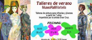 Talleres de pintura para niños y jóvenes @ Museo Ralli | Marbella | España