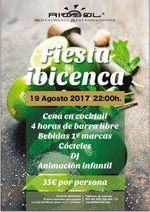 Fiesta ibicenca con animación infantil @ Restaurante Riosol | Rincón de la Victoria | Andalucía | España