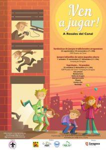 Ven a jugar Rosales del Canal @ CEIP Rosales del Canal | Zaragoza | Aragón | España
