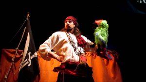 Títeres 'Quiero ser pirata' @ Teatro de La Puerta Estrecha | Madrid | Comunidad de Madrid | España