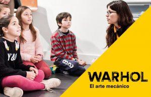 Visita en familia 'Warhol. El arte mecánico' @ CaixaForum Barcelona | Barcelona | Catalunya | España