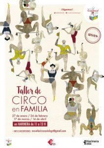 Taller de 'Circo en familia' @ Harinera | Zaragoza | Aragón | España