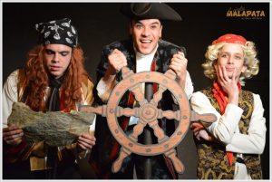 Teatro para niños 'El pirata Malapata en busca del tesoro' @ Artespacio Plot Point | Madrid | Comunidad de Madrid | España