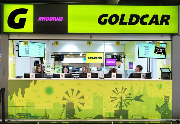 Goldcar y key n go m s facilidades para alquilar un coche for Oficinas goldcar