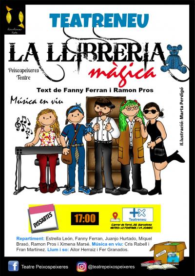 Teatro familiar 'La llibreria màgica' @  Teatreneu | Barcelona | Catalunya | España