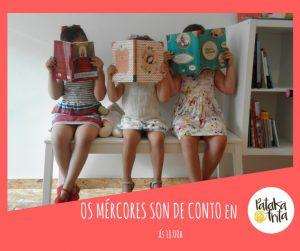 'Mércores de conto' @ Librería Patakafrita | Pontevedra | España