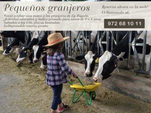 Taller infantil 'Pequeños granjeros' @ La Fageda | Olot | España