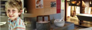 Taller familiar 'Esgafriamos, pintamos con harina' @ Ecomuseo-Harinera | Castelló d'Empúries | Catalunya | España