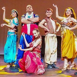 La lámpara maravillosa. Aladdin, el tributo @ Auditorio Ilduara Celanova