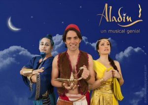 Aladín. Un musical genial @ Teatro Cofidis Alcázar