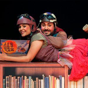 Y los sueños… libros son @ Teatro Arbolé
