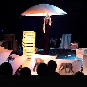 30 elefantes bajo un paraguas @ Teatro Municipal Concha Espina